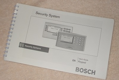 dsc security system user manual