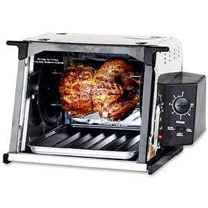 ronco compact showtime rotisserie and bbq oven manual