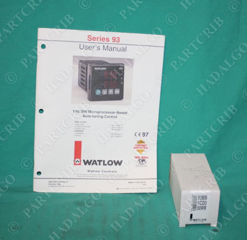 watlow 93 temperature controller manual