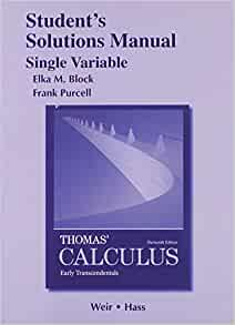 thomas calculus 13th edition solution manual pdf free download