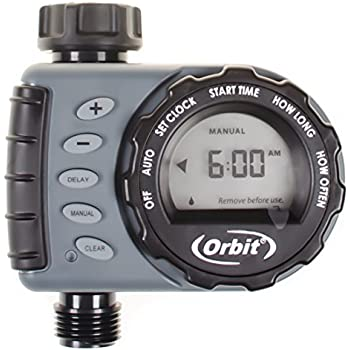 orbit 1 dial electronic hose timer manual
