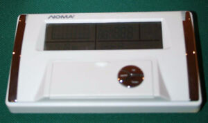 noma heating programmable thermostat manual
