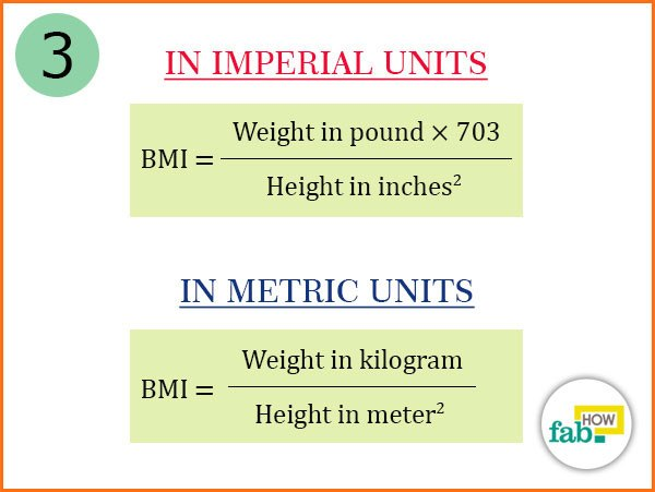 how to compute bmi manually