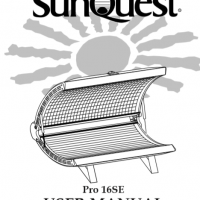 sunquest pro 24s tanning bed manual